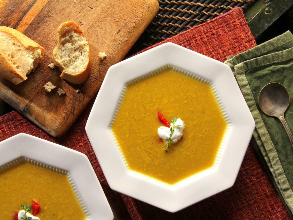 Es ist Hausgemachte Suppe Tag